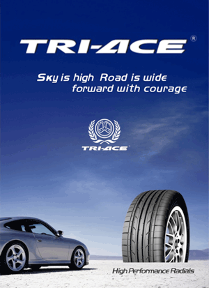 Thomas Brake Clutch Tyres - TRI-ACE Tyres