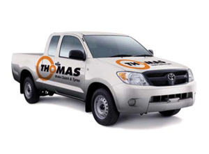 Thomas Brake Clutch Tyres - Thomas Delivery